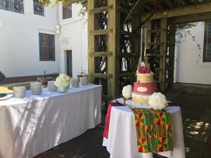 ghana wedding cake